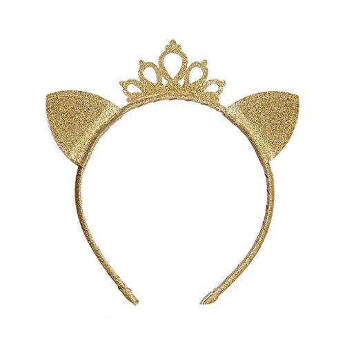 Danyerst Child Girls Princess Hollow Crown Headband, Cute