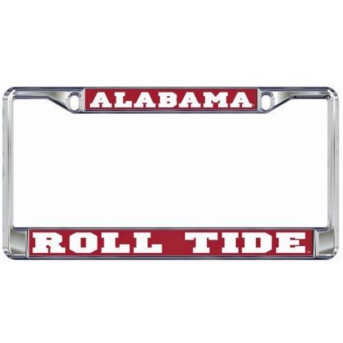 Alabama Crimson Tide Domed Metal License Plate Frame