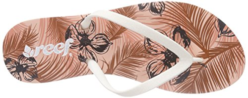 Reef Womens Stargazer Stampe Sandalo Blush Tropical