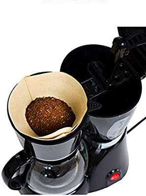 HOUYAZHAN Papel de Filtro de café Color primario 100 Unidades/Bolsa Olla de Goteo 102 (Color : Aprikosen): Amazon.es: Hogar