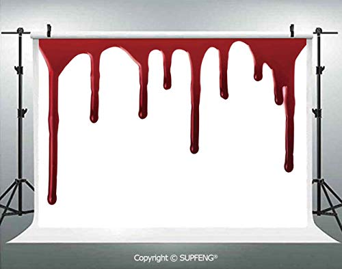 Photography Background Flowing Blood Horror Spooky Halloween Zombie Crime Scary Help me Themed Illustration 3D Backdrops for Photography Backdrop Photo Background Studio Prop
