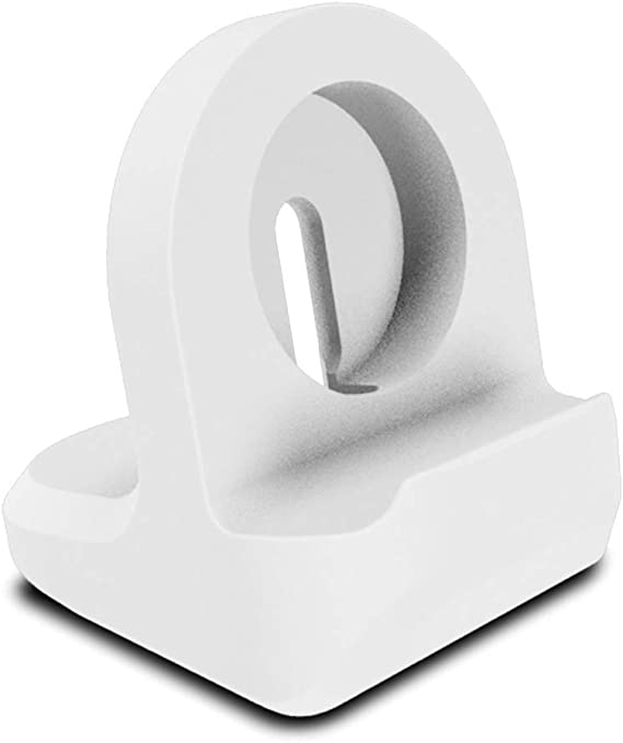 White AWINNER Compact Stand Compatible with iWatch Series 4,Series 3 Series 2 Support Stand with Integrated Cable Management Slot Series 1 Nightstand Mode Compatible 38mm /& 42mm Compatible