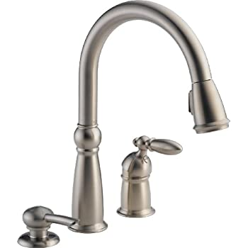 Delta 16955 Sssd Dst Victorian Single Handle Pull Down