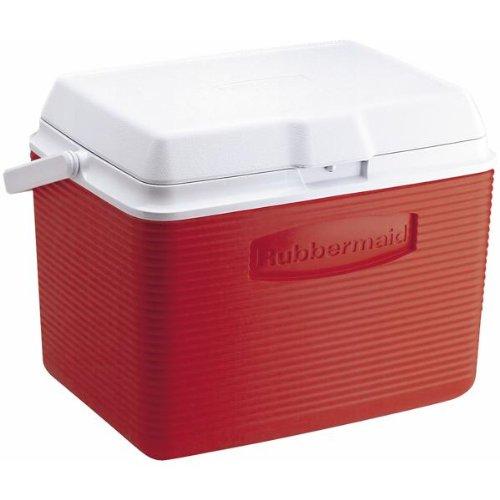 (Rubbermaid Cooler, 24 Quart, Red FG2A1304MODRD)