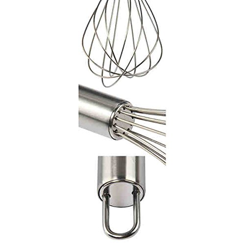 Investment Stainless Steel 8/ 10/ 12-inch 3-piece Balloon Wire Whisk Set offer