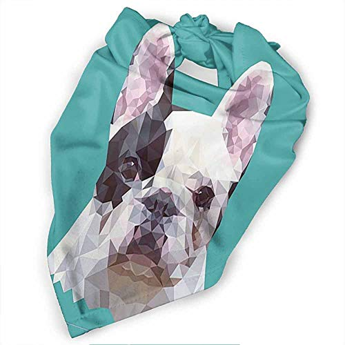 Custom Made Pack Dog Bandana, Printing Triangle Bibs Washable Scarfs for Pet Dog and Cat-Dog Pattern Printing Colorful
