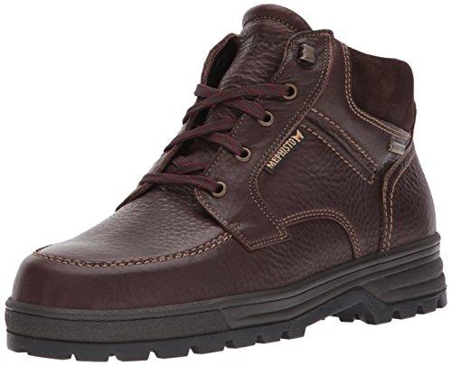 Mephisto Comfort Shoes (Mephisto Men's Jim GT Oxford, Chestnut Hudson/Dark Brown Suede, 9.5 M US)