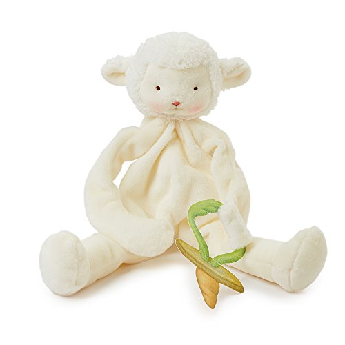 Bunnies By The Bay Kiddo Lamb Silly Buddy with Pacifier -