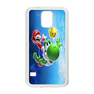 Personalised Phone case super mario For Samsung Galaxy S5 S1T3898