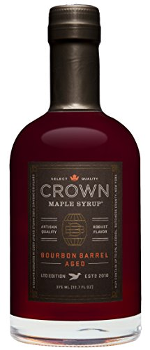 Sweet Potato Pecan Pie Recipe - Crown Maple Organic Grade A Maple Syrup, Bourbon Barrel Aged, 12.7 Ounce