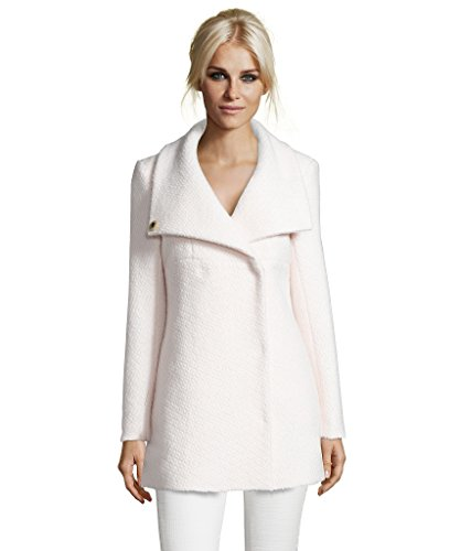 Textured Wool Coat - 1