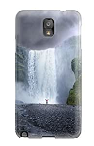 9025847K62541340 New Arrival Waterfall Case Cover/ Note 3 Galaxy Case