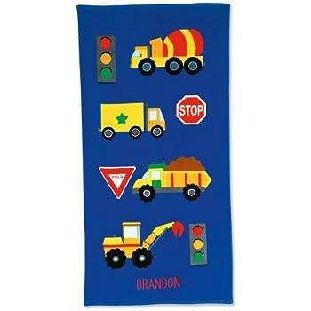 Amazon.com: Lillian Vernon Personalized Kids Truck Cotton