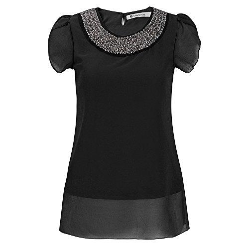 AvaCostume Womens Sleeve Beading Chiffon product image