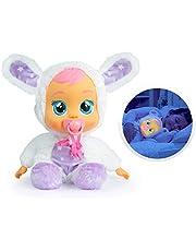 CRY BABIES 93140 Slaap mooi Coney – interactieve pop, de knuffelige slaaphulp en schattige speelvriend in één; Top10 speelgoed nomineerd; voor meisjes en jongens vanaf 18 maanden