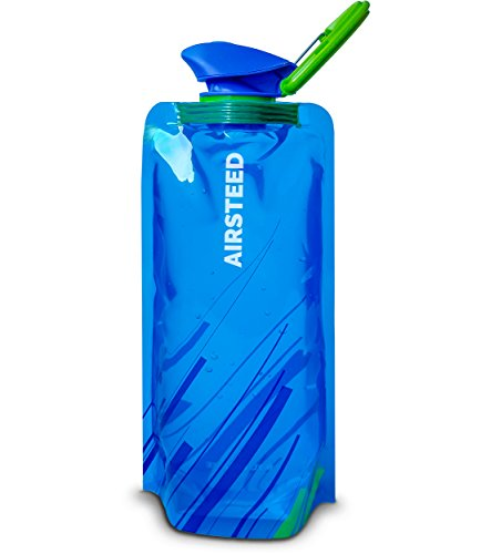 collapsible water bottle collapsible water bottle by airsteed 3 pack 10159