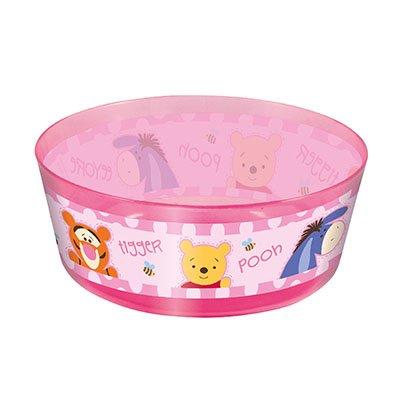 Winnie the pooh rosa baby, 0077, Vajilla infantil baby apta ...