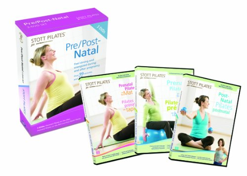 STOTT PILATES Pre/Post Natal 3 DVD Set