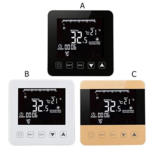 Digital Boiler Thermostat with Best Design, Universal Wireless WiFi Alexa Temperature Regulator Heating Thermostat - Water Boiler Thermostat, Wireless Thermostats, Wireless Termostat, Thermostat WiFi
