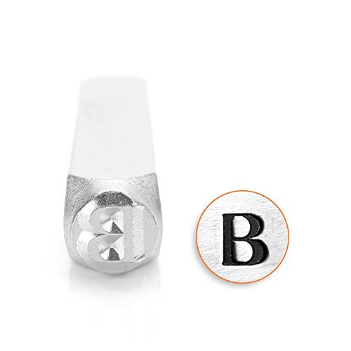 ImpressArt- 6mm, Beta Greek Letter - Letter Greek Beta