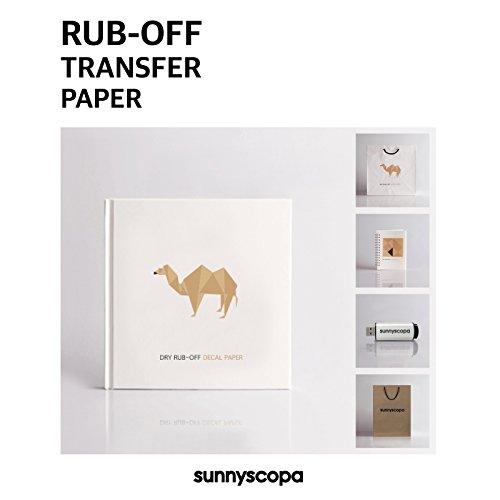y Rub-off Transfer Paper Clear 11