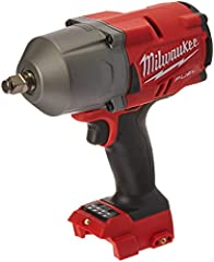 The 2767-20 M18 FUEL High Torque 1/2 inch Impact Wrench with Friction Ring eliminates the need to use a pneumatic tool for those stubborn and rusted bolts by delivering 1,000 ft-lbs of fastening torque and 1400 ft-lbs of nut-busting torque. W...