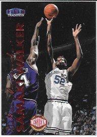 (Samaki Walker 1999-00 Fleer Tradition Dallas Mavericks Card #186)