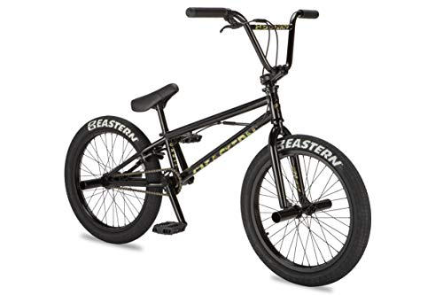 2019 Eastern Orbit - Affordable BMX Bike to Get Started. Designed, Produced and Serviced by BMX Professionals. Comes with 4 Pegs and a Gyro. (Black)