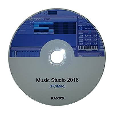 Music Studio 2016 (Professional Music Production Software Suite) for PC and Mac by RAND'S