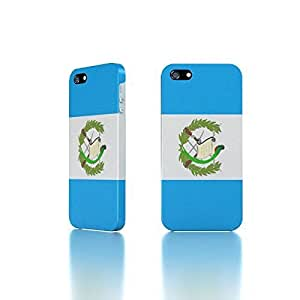 Apple iPhone 5 / 5S Case - The Best 3D Full Wrap iPhone Case - Guatemala Flags
