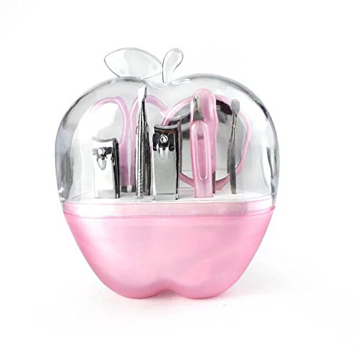 brendacosmetic-9-pieces-in-1-apple-shaped-staineless-manicure-sets-nail-clippersnail-clipper-travel-