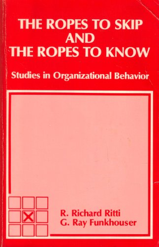 The Ropes to Skip and the Ropes to Know