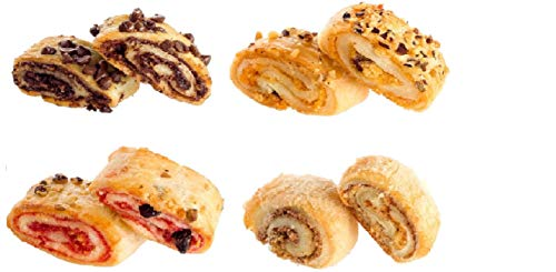 Old Fashioned Gourmet Bakery Gift Holiday: Chocolate Chip Cookie, Cranberry Cookie, Peanut Butter Cookie, Oatmeal Raisin Cookies, Rugelach, Chocolate Crumb cake. Great Gift Basket! by Dulcet Gift Baskets (Image #4)