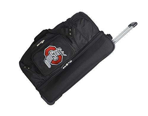 NCAA Ohio State Buckeyes Rolling Drop-Bottom Duffel by Denco
