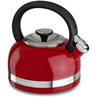 KitchenAid 2-Qt. Kettle with Full Handle and Trim Band (Red)
