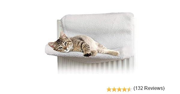 Invero® - Cama para radiador para gatos y perros, hamaca polar para animales: Amazon.es: Productos para mascotas
