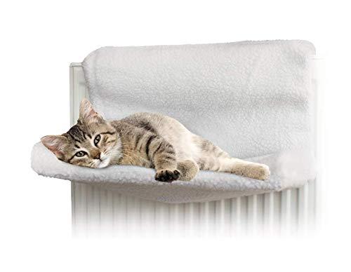 Invero® - Cama para radiador para gatos y perros, hamaca polar ...