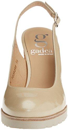 Gadea 40640, Zapatos de Tacón con Punta Cerrada para Mujer Beige (Honey Salinas)