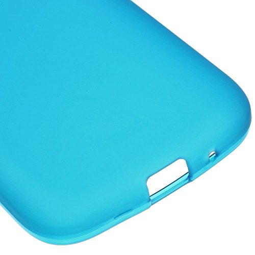 JUJEO Matte TPU Gel Protective Case for Samsung Galaxy Star 2 Plus SM-G350E - Non-Retail Packaging - Blue