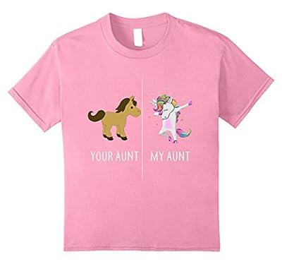Your Aunt My Aunt Cute Unicorn T-Shirt Funny Aunt Shirts