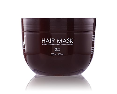 Herstyler Argan Hair Oil Mask – Deep Conditioning Mask For Limp Dull Hair – Hair Mask For Dry Damaged Hair – Anti - Frizz Hair Mask – Enjoy Stimulating Hair Benefits With This Hair Repair Mask