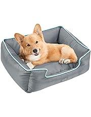Pecute Hundebett Haustierbett fur Katzen und kleine mittlere Hunde Abnehmbar Rechteck Wasserdicht Maschinewaschbar