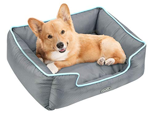 Dog Bed Water Resistance Cat Pet Bed Removable Machine Washable SoftPPCotton-Filled for Small Medium Pet