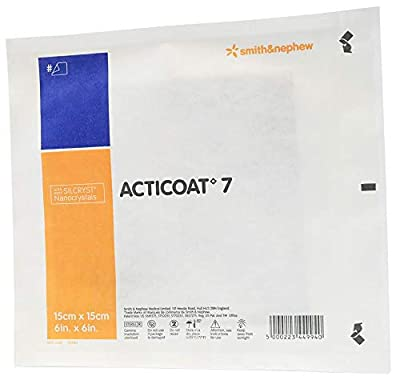 "ACTICOAT 7 Antimicrobial Dressing, 6"" x 6"" [1 Each (Single)]"