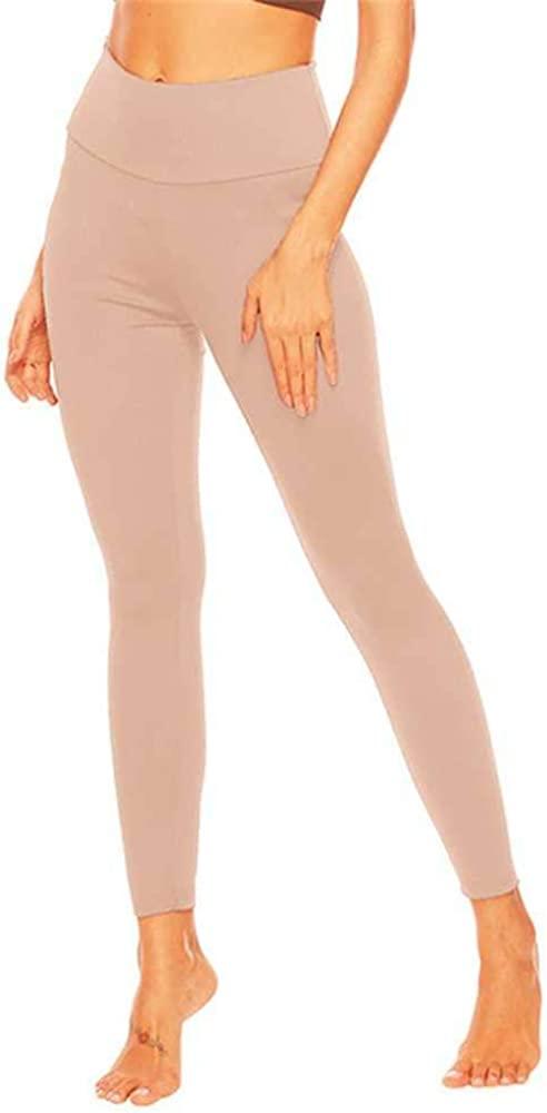 Gimnasio Leggings de las Mujeres Pantalones de Entrenamiento de Cintura Alta Costura Sin Costura Leggings Fitness Entrenamiento Medias Deportivas Ropa de Running Transpir