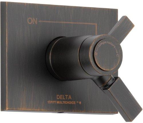Delta Faucet T17T053-RB Vero TempAssure 17T Series Valve Trim Only, Venetian Bronze