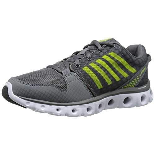 K-Swiss Men's X Lite ST CMF Training Shoe, Charcoal/Lime Punch, 10 M US