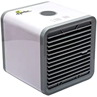 GARDEN PANACEA Air Conditioner – Mini Air Cooler – Personal Cooling Fan – Portable Air Conditioner – 2 in 1 Air Cooler Humidifier