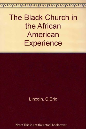 Books : The Black church in the African-American experience