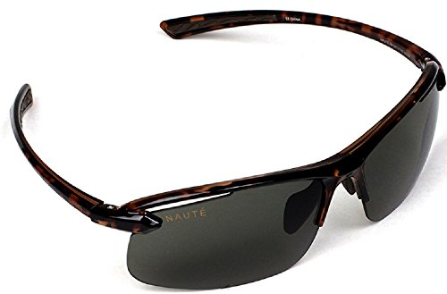 Naute Sport - The Nova Polafog- Lightweight, HD Polarized & Anti-fog Sunglasses (Tortoise, - Sunglasses Nova